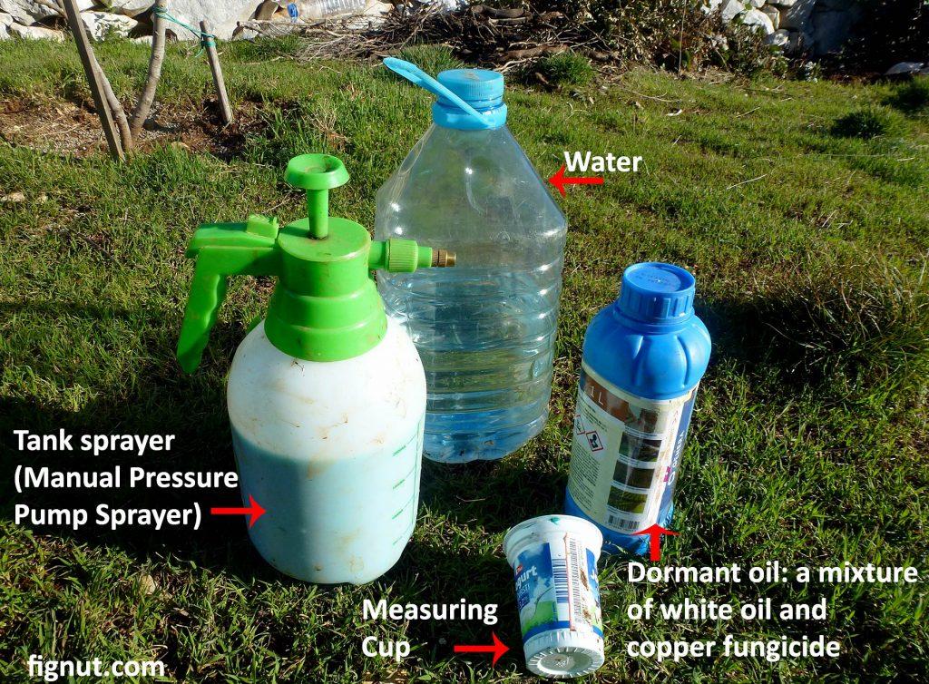 My dormant oil spray kit