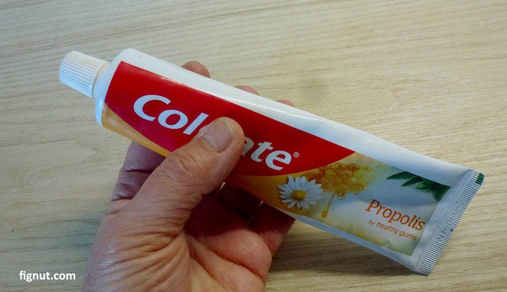 Toothpaste contain nitrogen